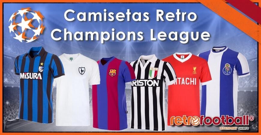COLECCIÓN OFICIAL FCB · Camisetas retro Champions League 34206a43fc6