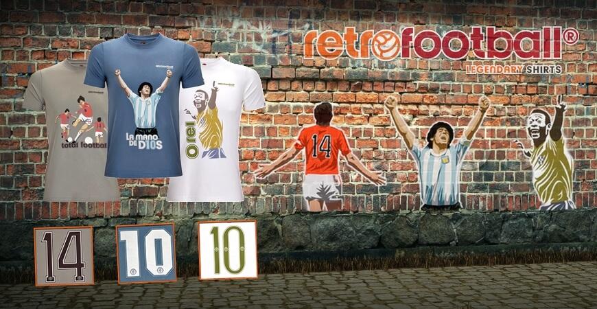 Compra replicas de camisetas de fútbol retro y vintage  7cae95d719b