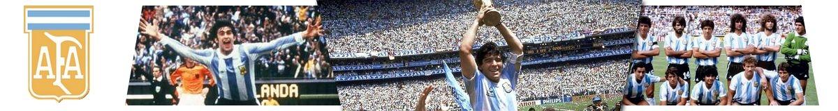 Camisetas Retro Argentina