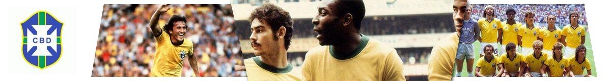 Camisetas Clásicas Brasil