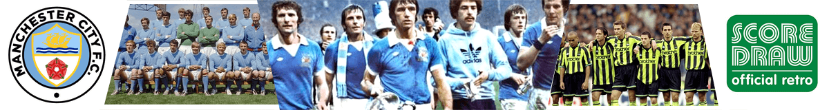 Camisetas retro Manchester City FC