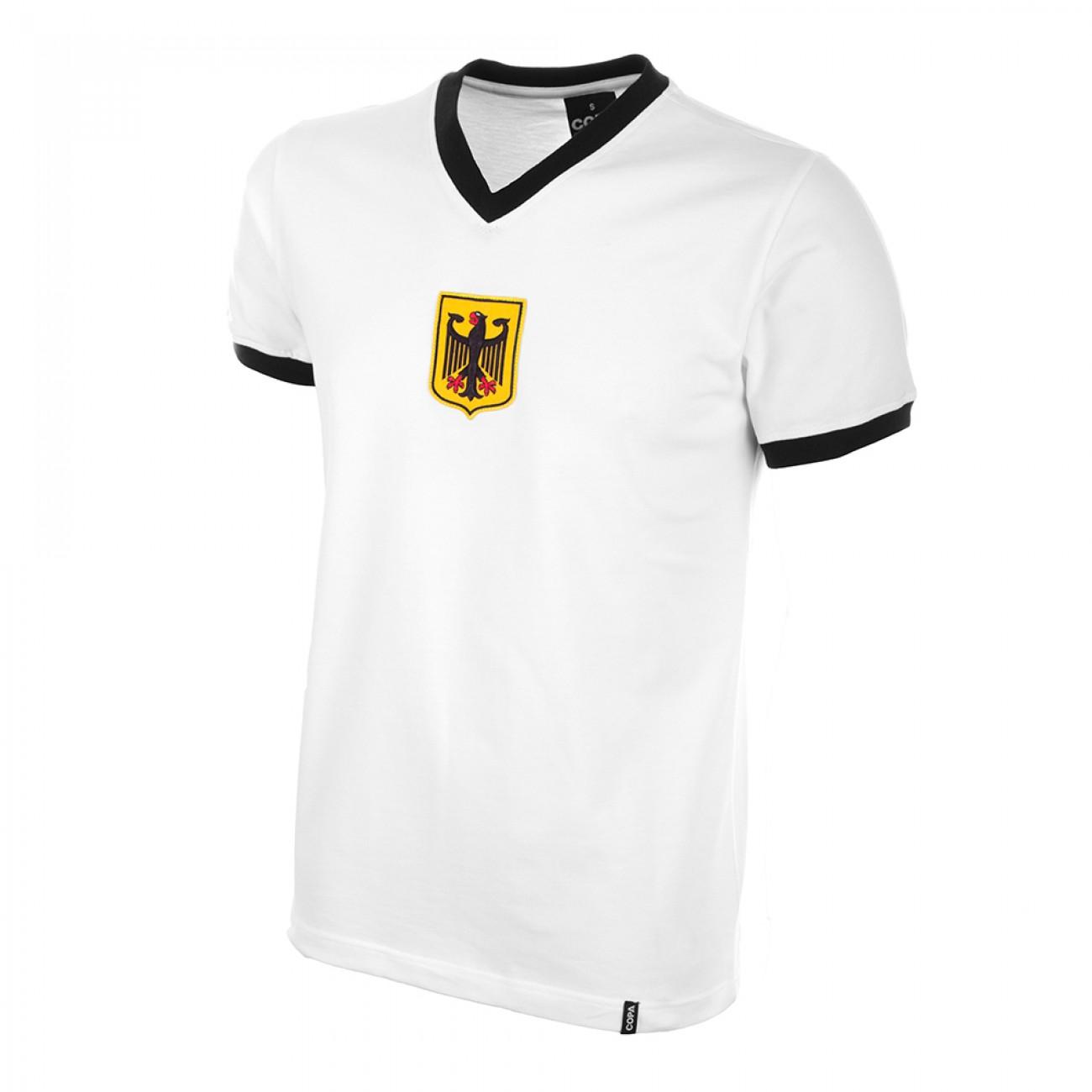 Camiseta Alemania años 70. Selección Alemana.   Retrofootball®