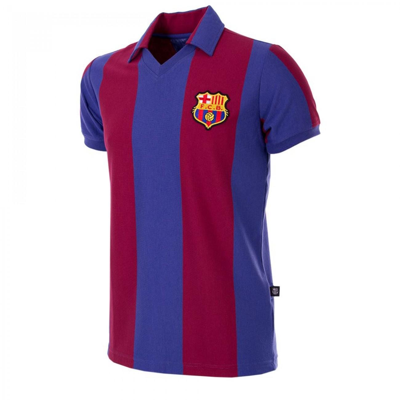 5b54f223245b0 Camiseta Antigua FC Barcelona años 80