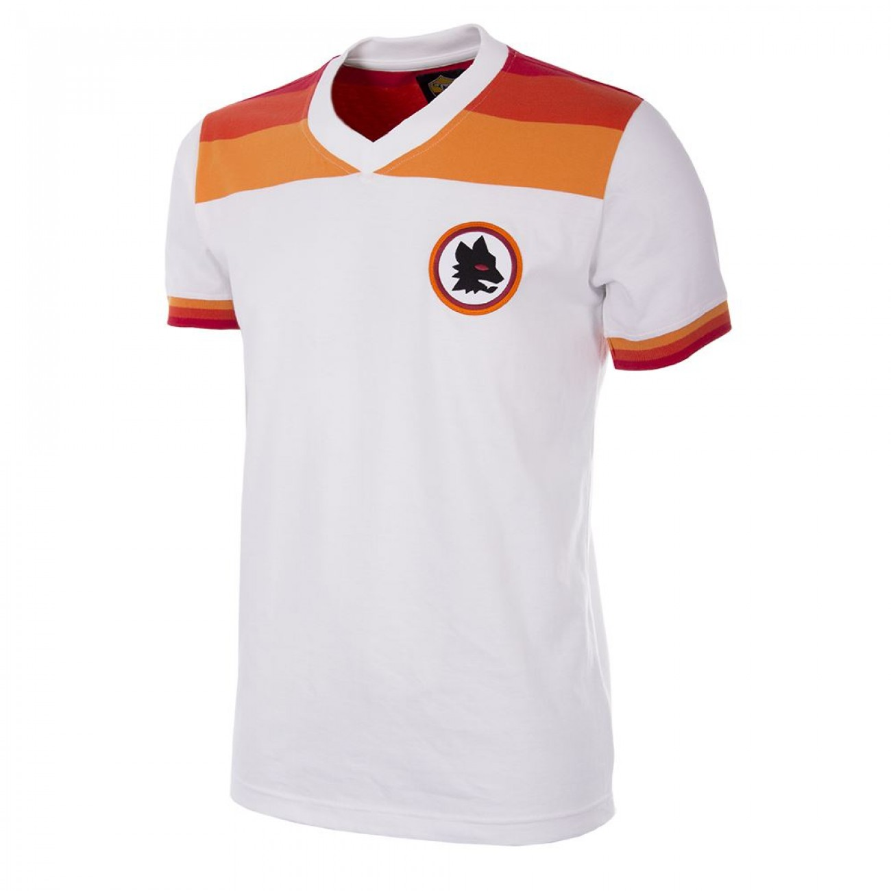 6dd6e6ba05239 Camiseta antigua AS Roma oficial blanca