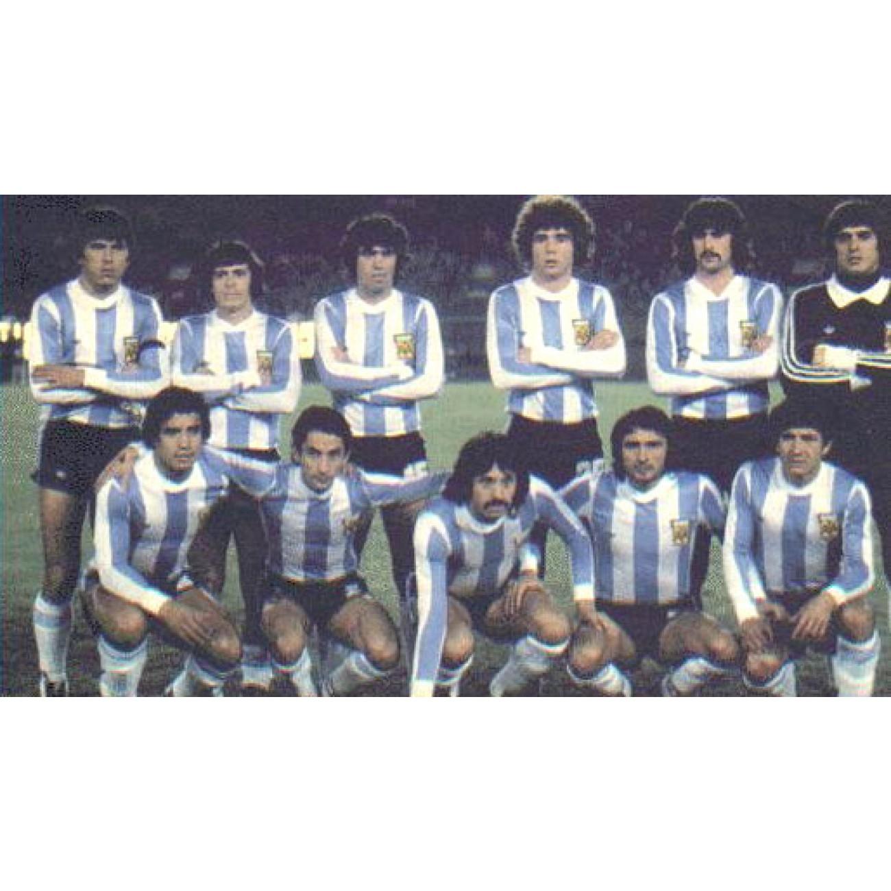 camiseta vintage de argentina mundial 1978