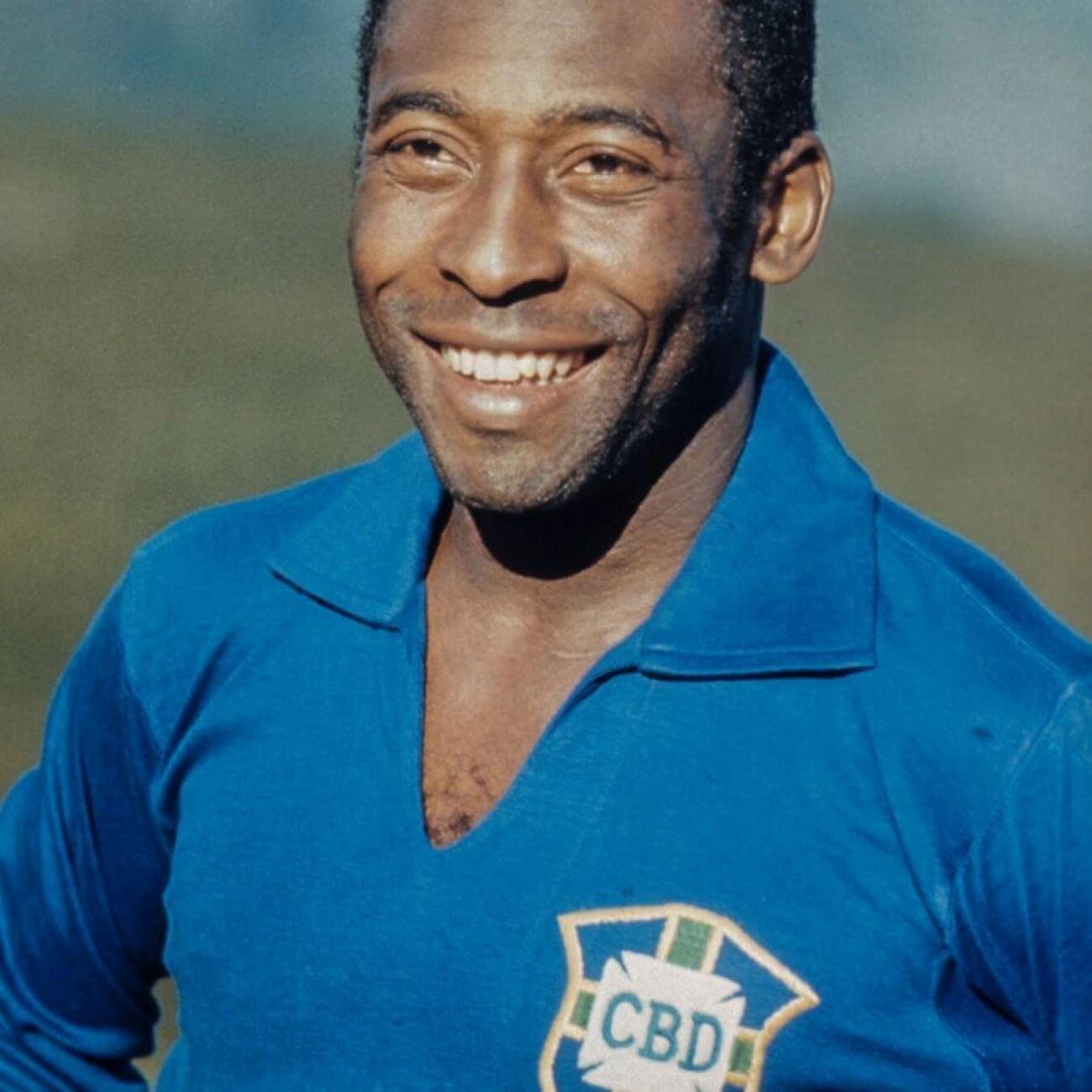 Camiseta Brasil Pelé 1958