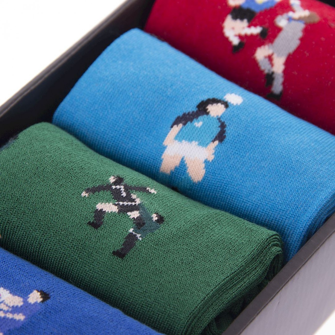 Calcetines Box Socks Fútbol retro
