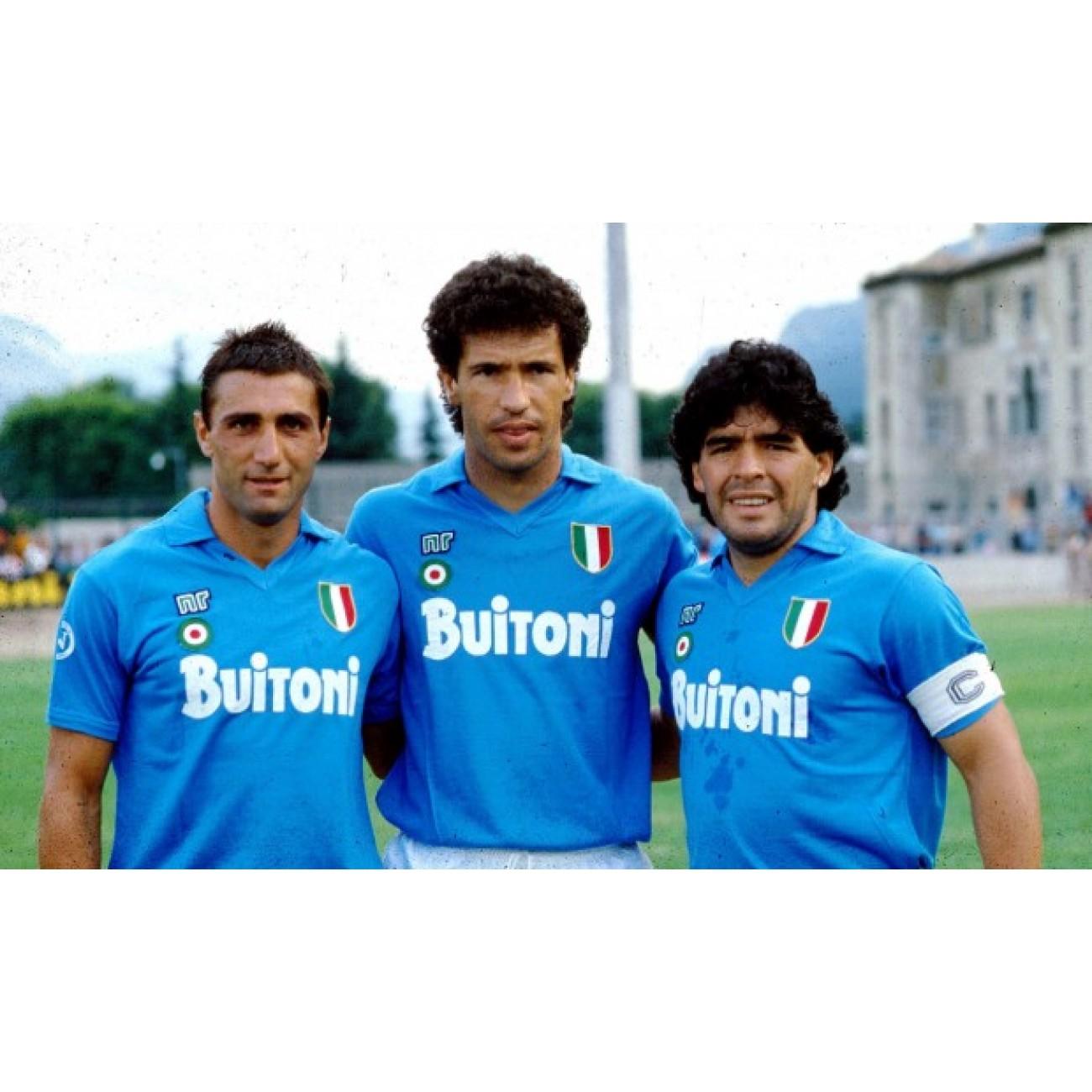 c8bef810bf6a9 Camiseta Maradona Napoli