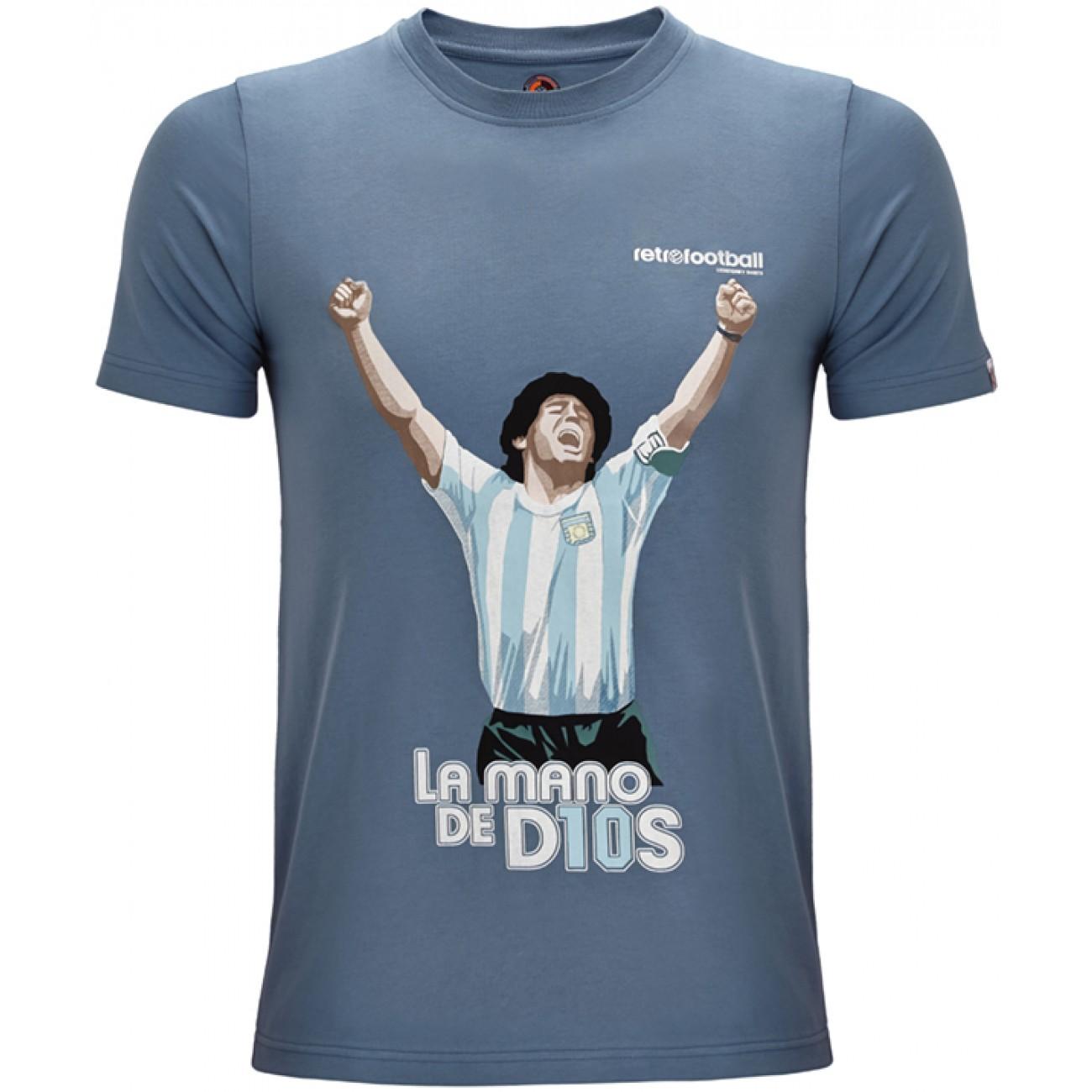 Camiseta Maradona La Mano de D10S