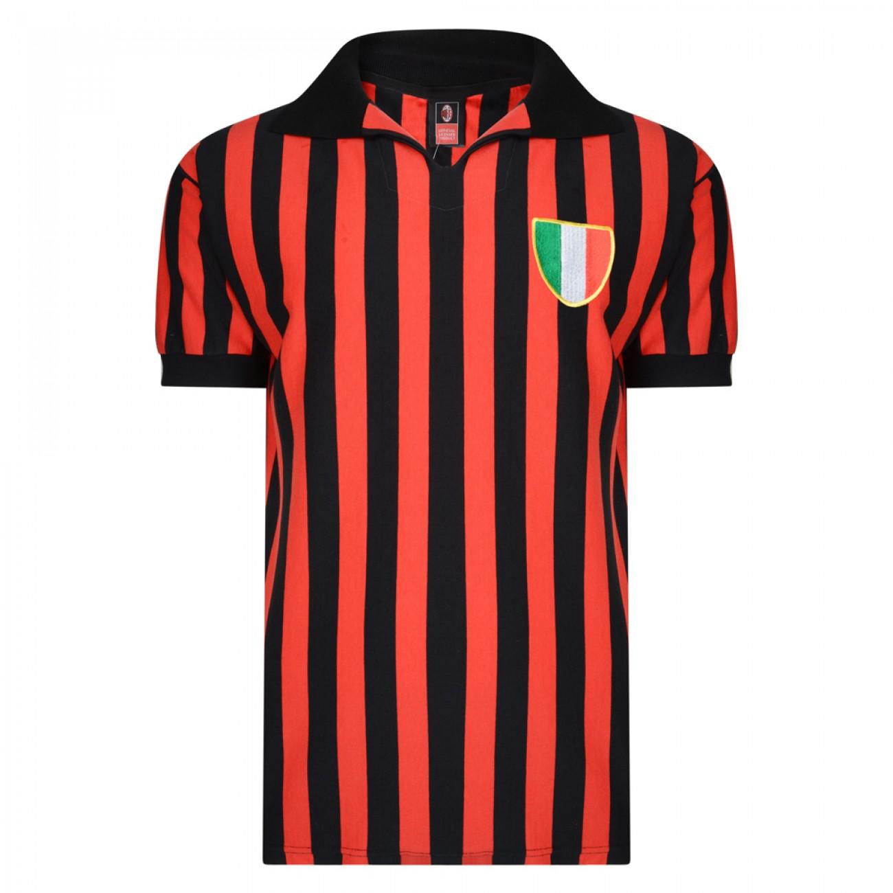 829e9bf97a94d Camiseta antigua AC Milan 1963 Rivera Maldini Altafini