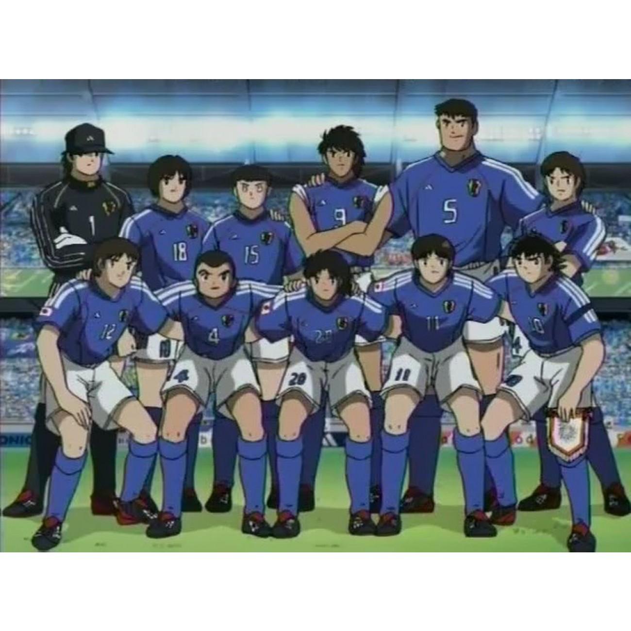 Camiseta Japón Campeones Oliver y Benji. SKU  OT20060 ... 5c653946c1a02