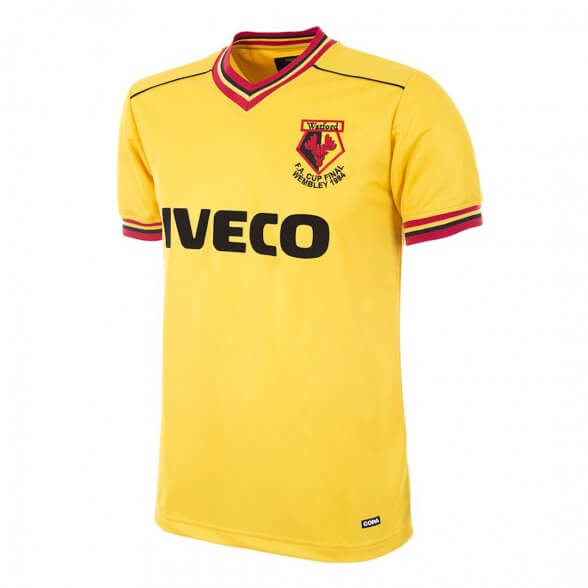 Camiseta Watford FC 1983/84