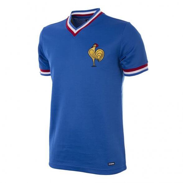 Camiseta Retro Seleccion Francia años 70