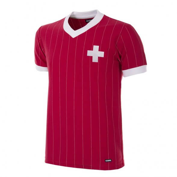 Camiseta Suiza 1982