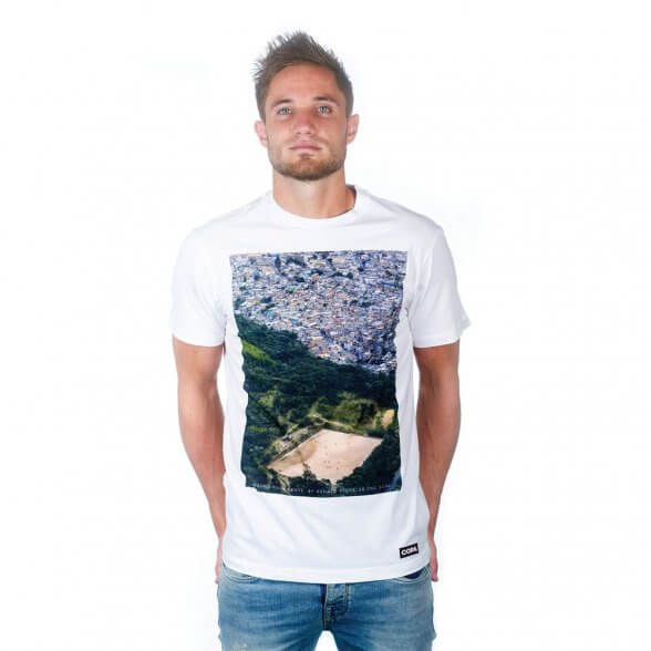 Ground From Above T-Shirt | White