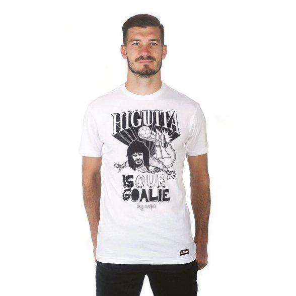Higuita T-Shirt   White