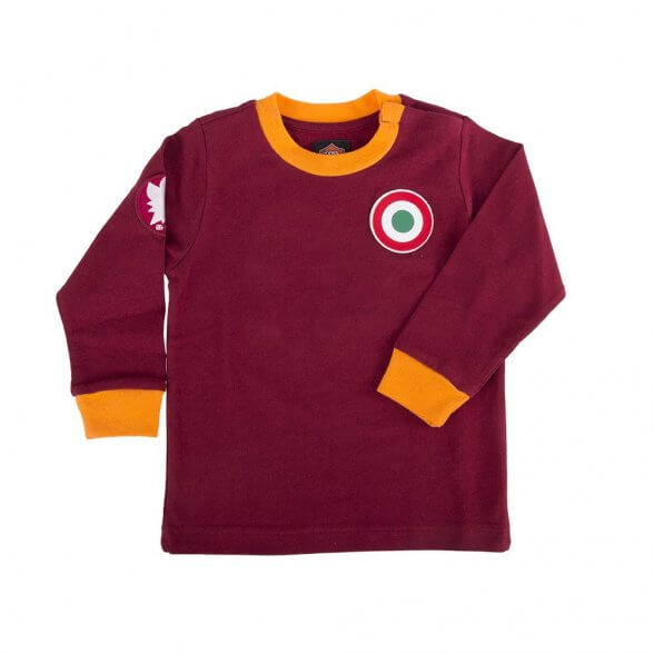 Camiseta retro AS Roma Niño