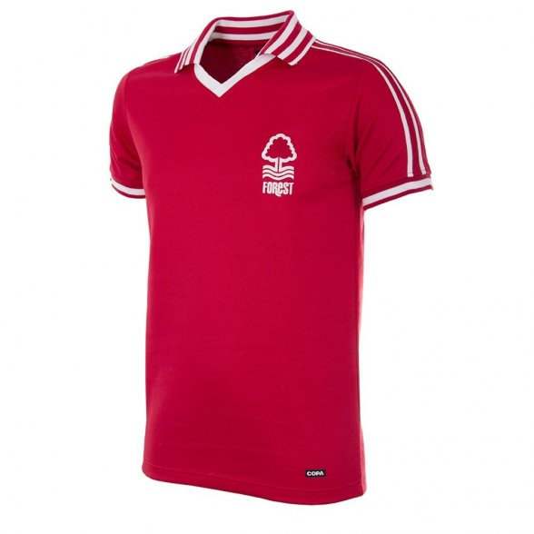 Camiseta Nottingham Forest 1976/77
