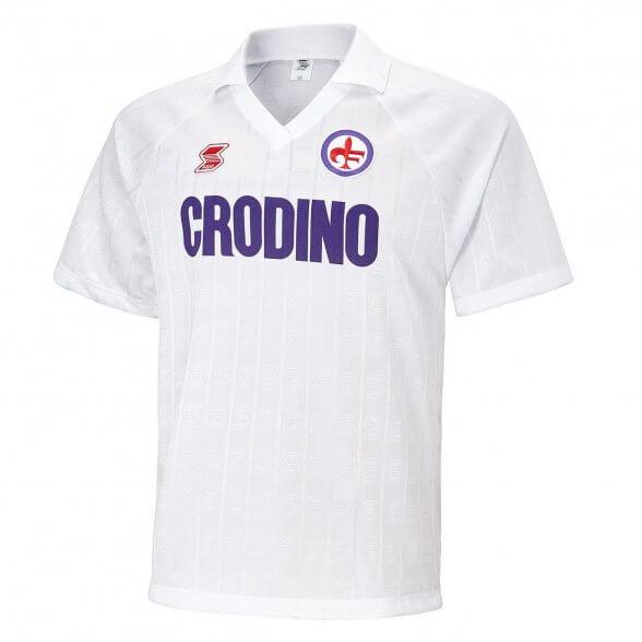 Camiseta Fiorentina 1988/89 Visitante