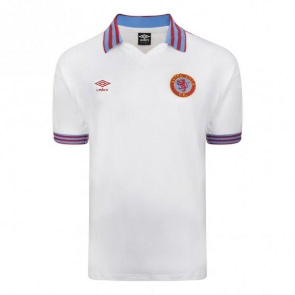 Camiseta Retro Aston Villa 1980 Visitante