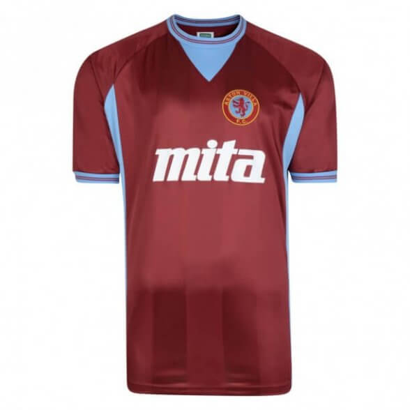 Camiseta Retro Aston Villa 1984-85