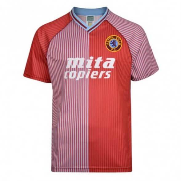 Camiseta Retro Aston Villa 1987-88