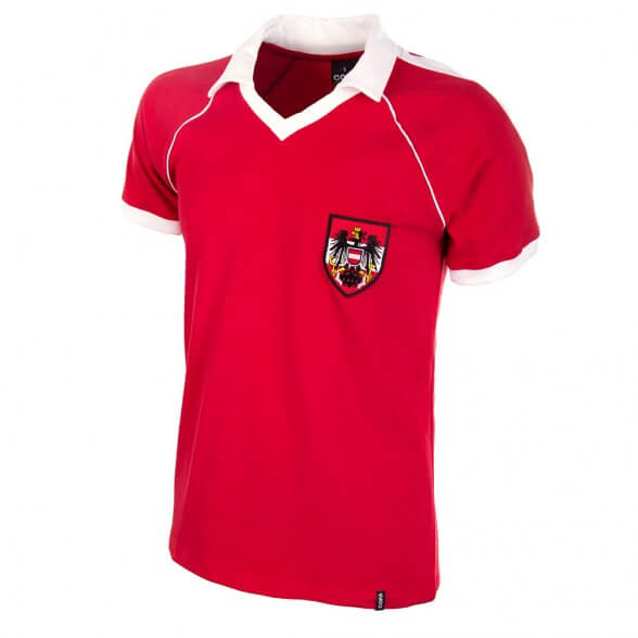 Camiseta Austria 2º equipación 1982