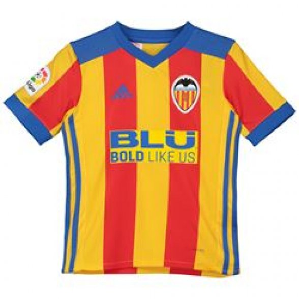Camiseta Valencia Senyera 2017-2018   Niño
