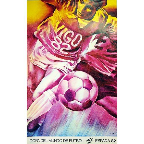 Cartel Oficial de Vigo  - El delantero-centro de Monory