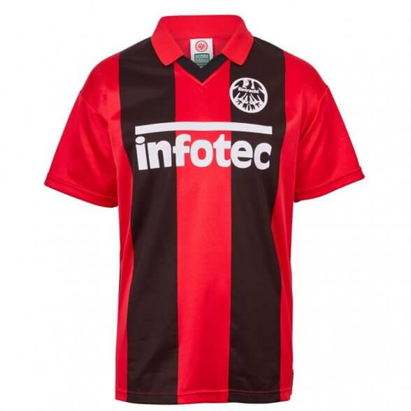 Camiseta Eintracht Frankfurt 1982/83