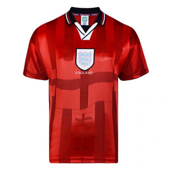 Camiseta Retro Inglaterra 1998 Visitante