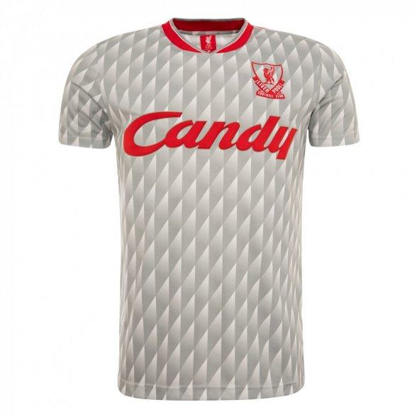 Camiseta Liverpool 1989/90 | Visitante