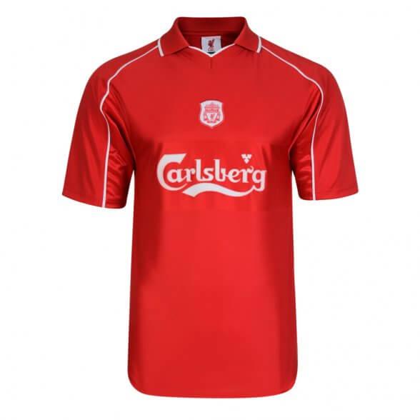 Camiseta Liverpool 2000