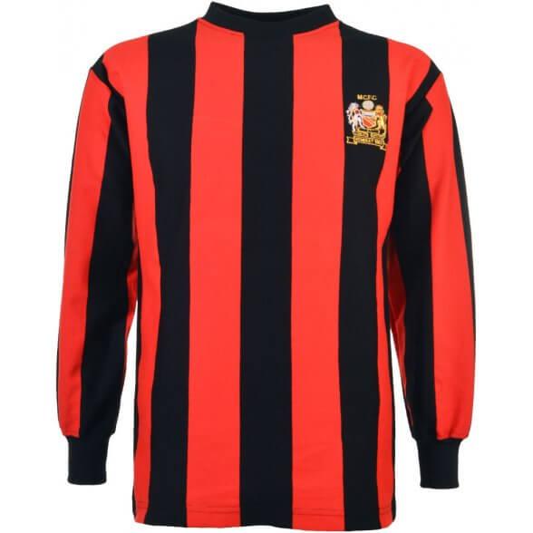 Camiseta Manchester City 1969