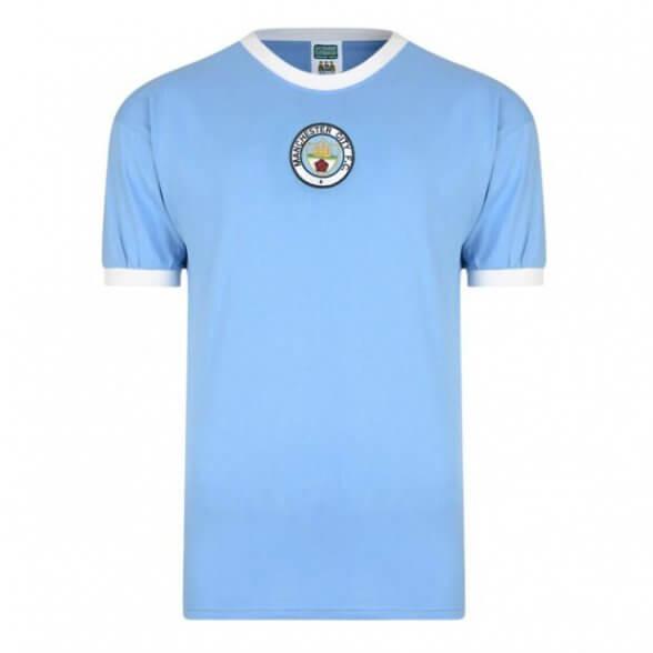 Camiseta Retro Manchester City 1972