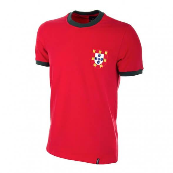 Camiseta retro Portugal años 60