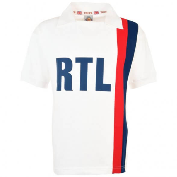 Camiseta retro Paris 1983 blanca