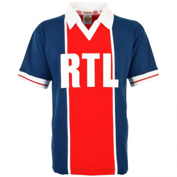 Camiseta Paris 1981-82