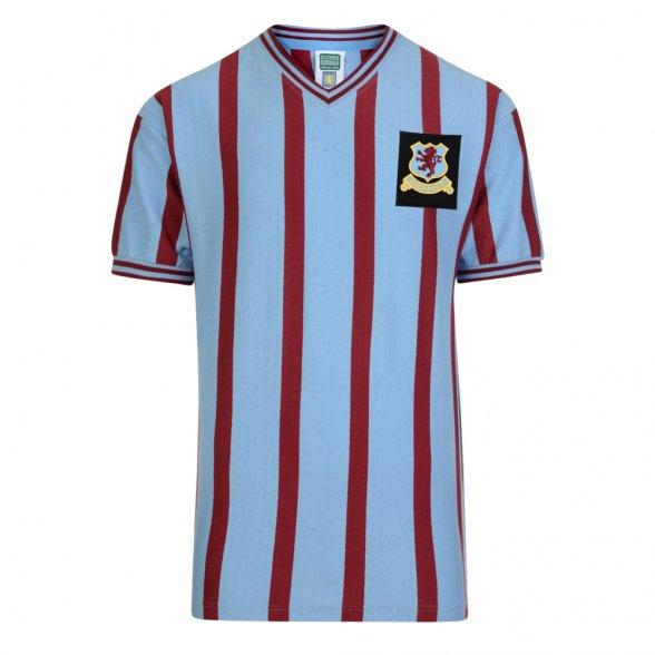 Camiseta Aston Villa 1957