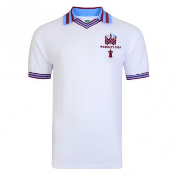 Camiseta West Ham 1980 - 2ª equipación