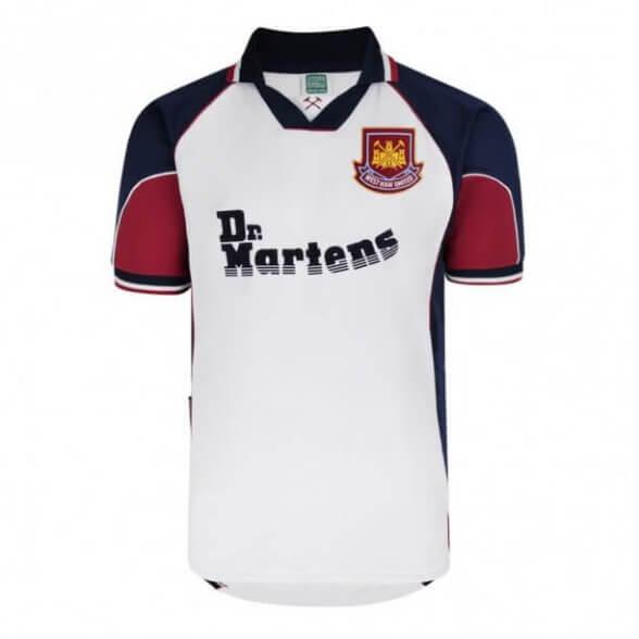 Camiseta West Ham 1998/99 | Visitante
