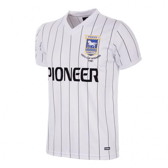 Camiseta Ipswich Town 1981/82   Visitante