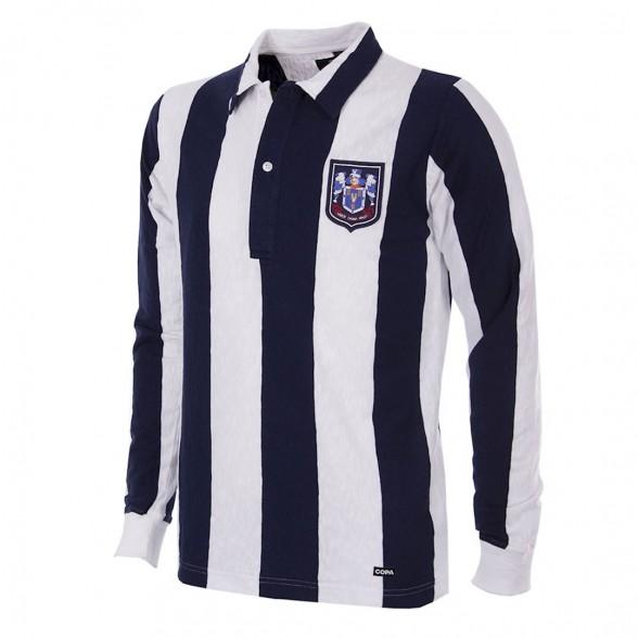 Camiseta West Bromwich Albion 1953/54