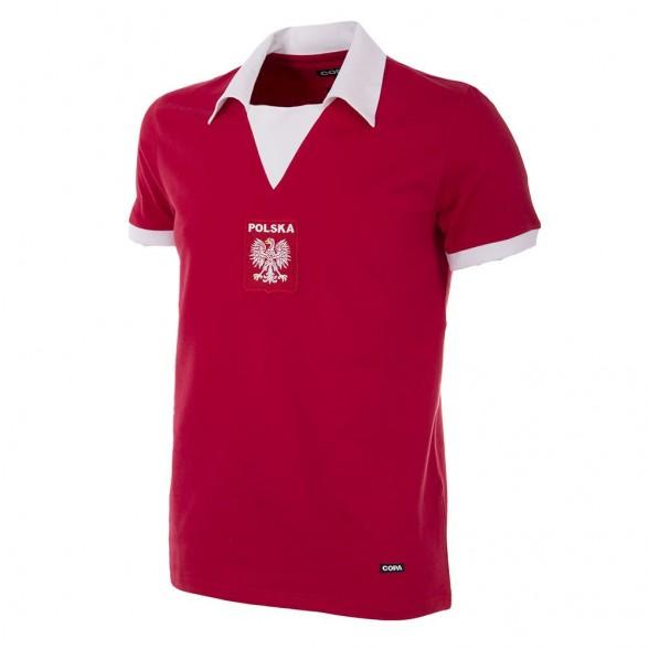 Camiseta retro Polonia 2º equipación años 70