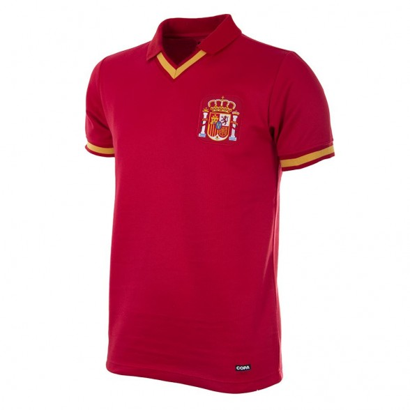 Camiseta Retro Selección Española Butragueño