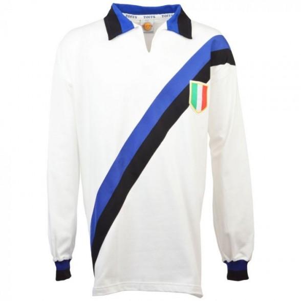 Inter Milan Camiseta Retro Scudetto 1963/1964 blanca