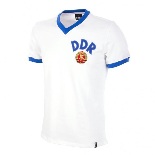 Camiseta DDR blanca Mundial 1974