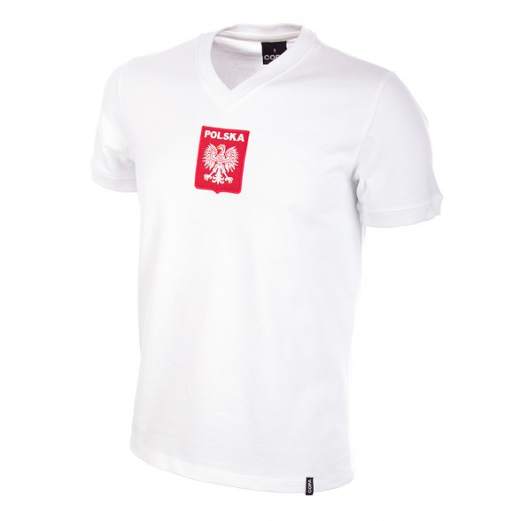 Camiseta retro Polonia años 70