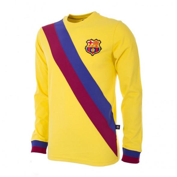 fefc5e3d95 Camiseta amarilla visitante FC Barcelona