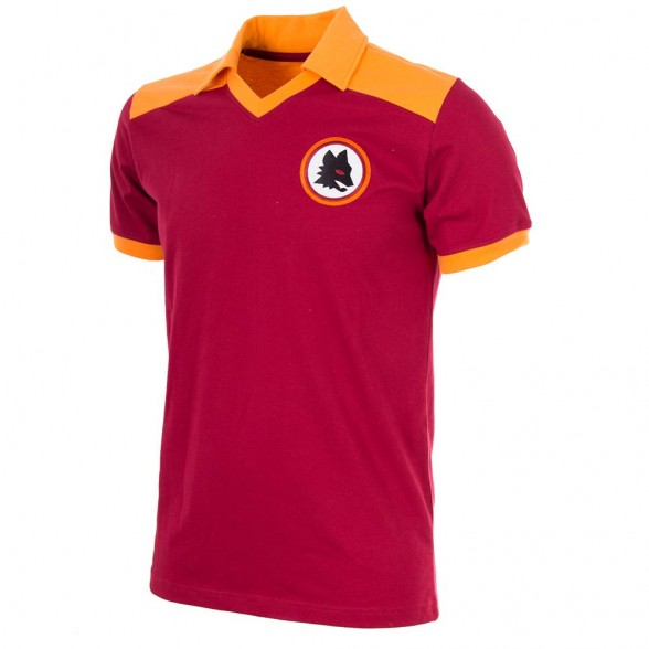 Camiseta AS Roma 1980
